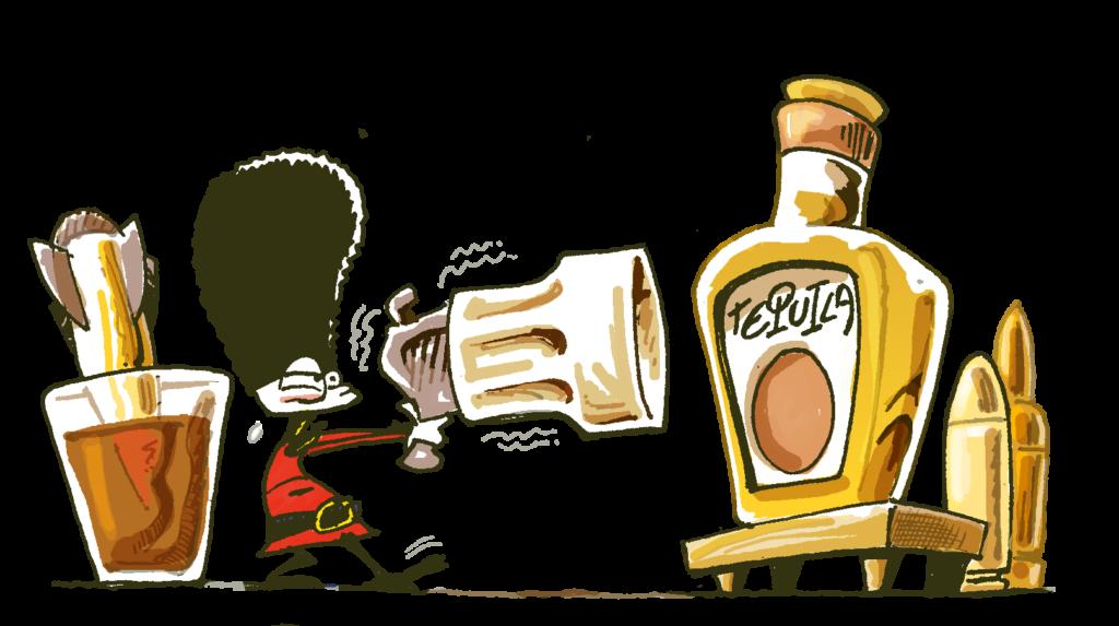 Shottini di Tequila