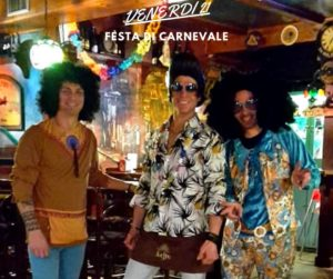 Festa di Carnevale all'Open Gat Pub di Fiesso D'Artico VE